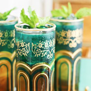 Moroccan Spiced Mint Tea Juleps Cocktail Recipe