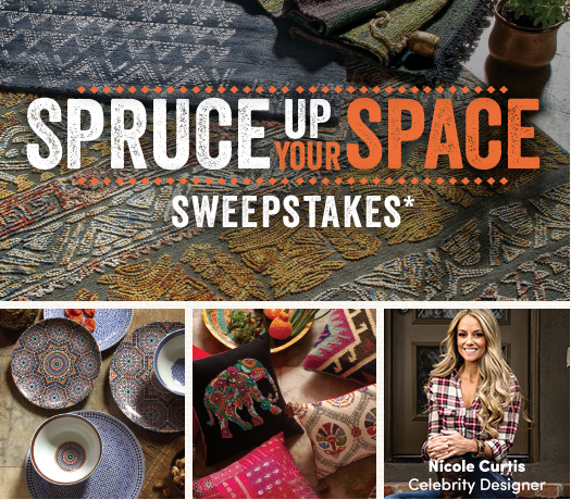 Spruce Up Your Space Sweepstakes by Cost Plus World Market