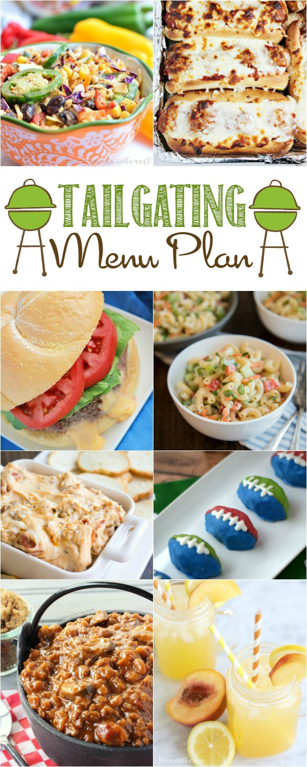 Football Tailgating Menu Plan Ideas Home Cooking Memories
