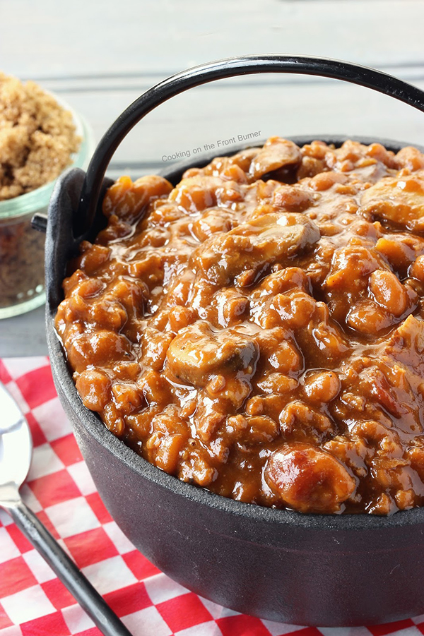 Troy's Baked Beans Recipe by Cooking on the Front Burners