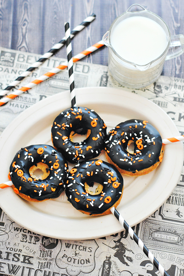 Halloween Funfetti Cake Mix Donuts Recipe