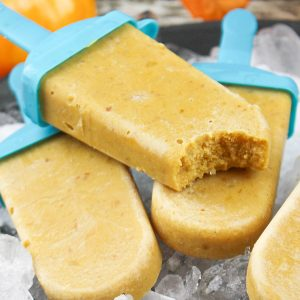 Pumpkin Spice Frozen Yogurt Pops Recipe