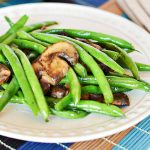 Easy Green Beans with Mushrooms Recipe