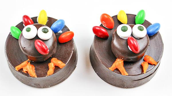 Easy OREO Thanksgiving Turkey Cookies - Fun Food Craft