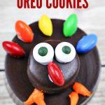Easy OREO Thanksgiving Turkey Cookies Recipe