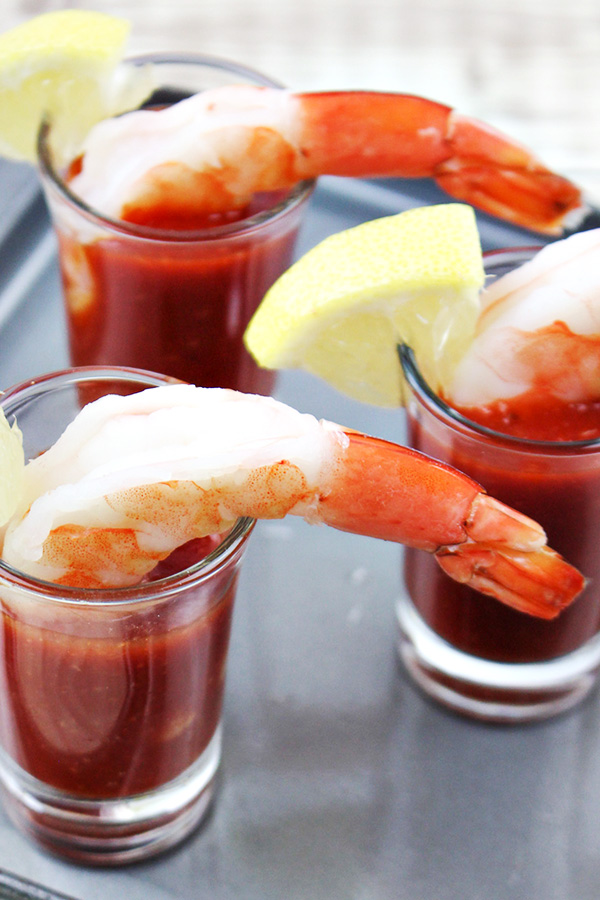Quick & Easy Shrimp Cocktail Appetizer