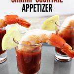 Quick & Easy Shrimp Cocktail Appetizer Recipe