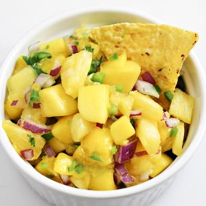 Pineapple Mango Fruit Salsa Recipe