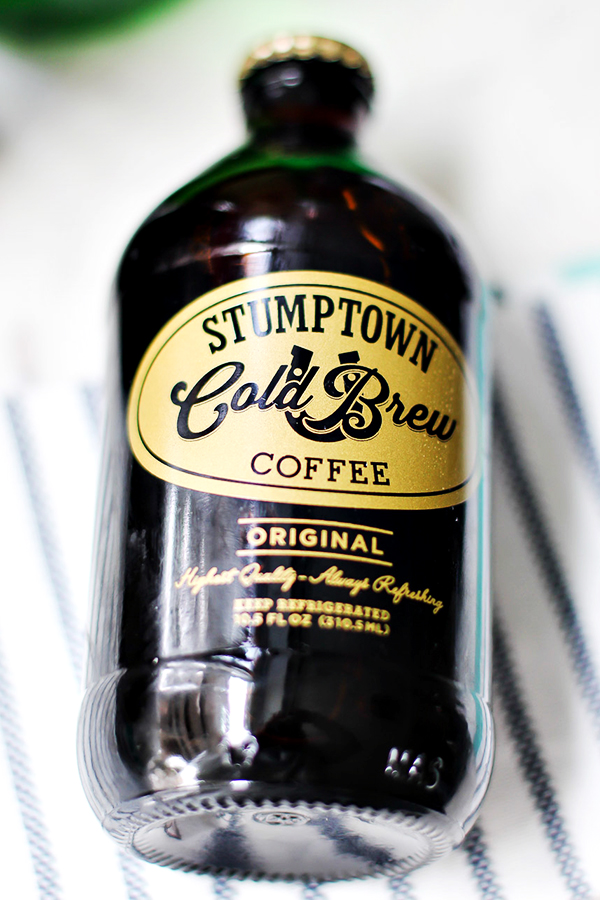 Stumptown Cold Brew Coffee for Mint Irish Iced Coffee Cocktail Recipe