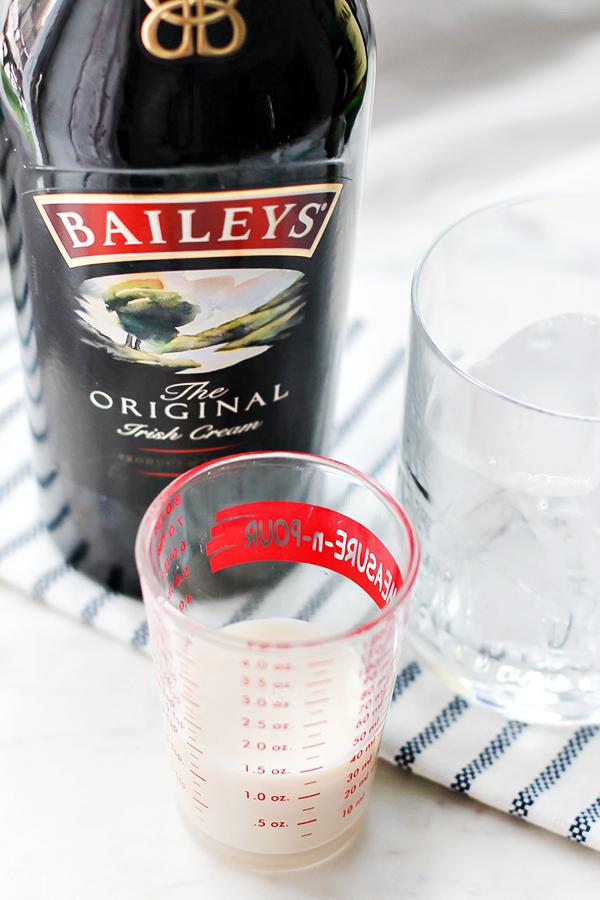 Bailey's Irish Cream for Mint Irish Iced Coffee Cocktail Recipe