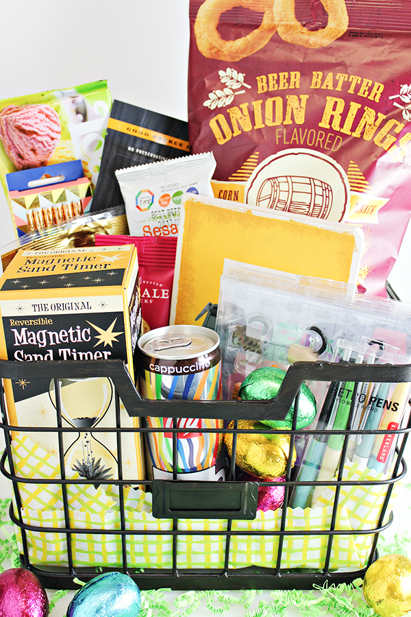 3 easter basket ideas for young adults or older teens college student easter basket idea negle