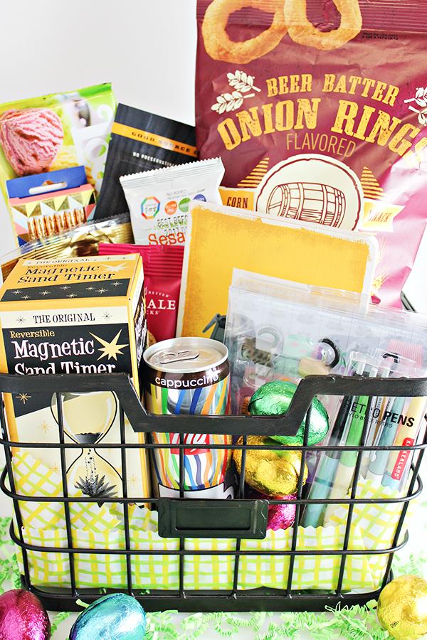 College Student Easter Basket Idea