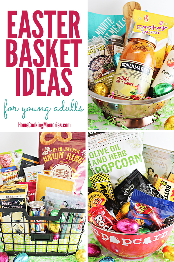 3 easter basket ideas for young adults or older teens tips and inspiration for easter basket ideas for young adults or older teens including baskets for negle Images