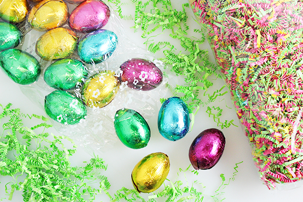 Riegelein Hollow Easter Eggs Chocolate Bag