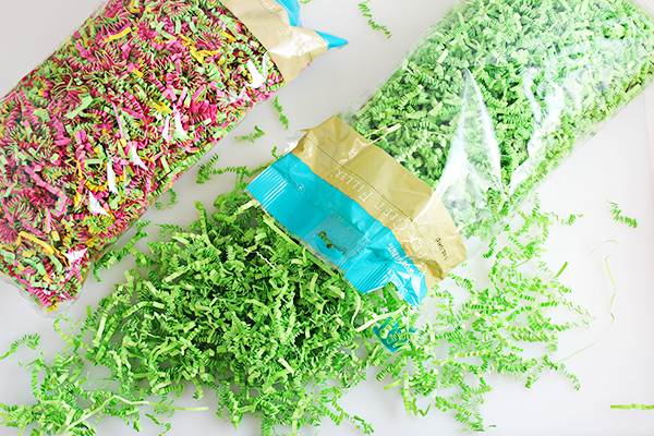 Easter Basket Ideas for Young Adults - World Market Crinkle Paper Gift Filler