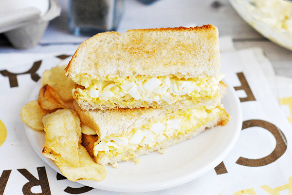 Easy Egg Salad Sandwich Recipe
