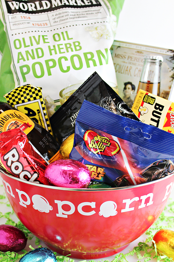 Movie Night Easter Basket Idea for Teen or Young Adult