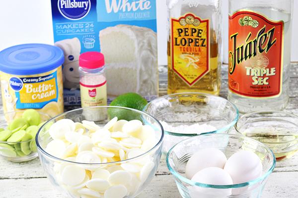 Boozy Margarita Cake Balls Recipe - Ingredients