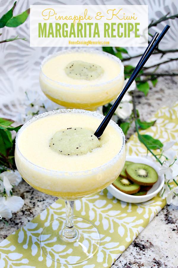 Pineapple & Kiwi Margarita Recipe