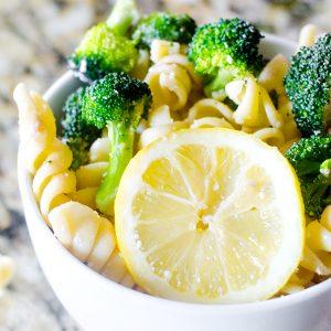 Easy Broccoli Lemon Pasta Salad Recipe