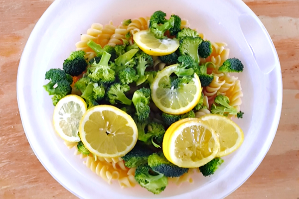 Broccoli Lemon Pasta Salad Recipe