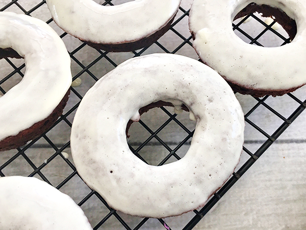OREO Cake Mix Donuts Recipe