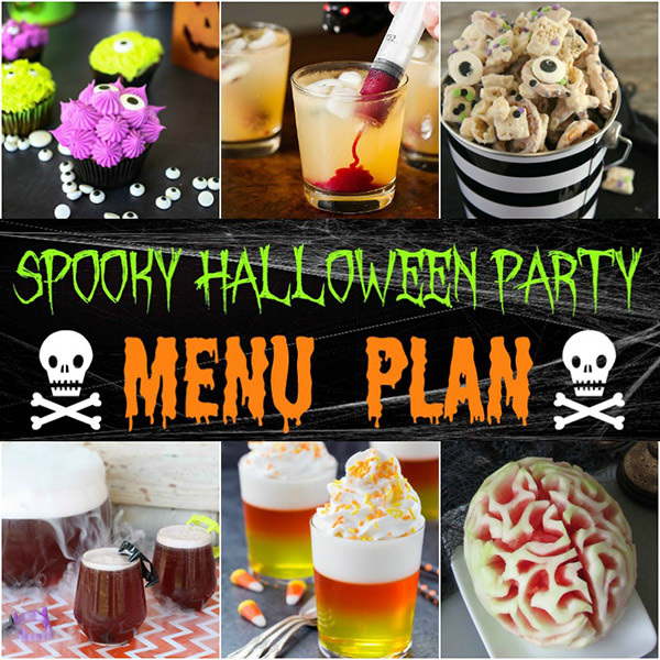 easy halloween party menu ideas