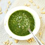 Easy Homemade Pesto Sauce Recipe