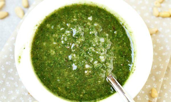 Easy Homemade Pesto Sauce Recipe
