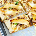 Leftover Turkey and Pear Pizza Recipe