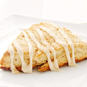 Spiced Eggnog Scones Recipe