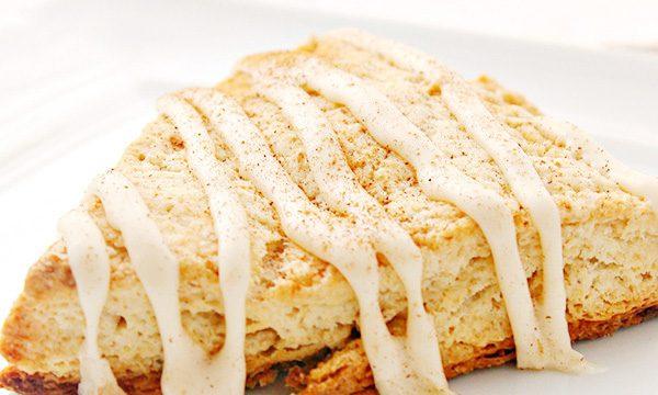 Spiced Eggnog Scones Recipe