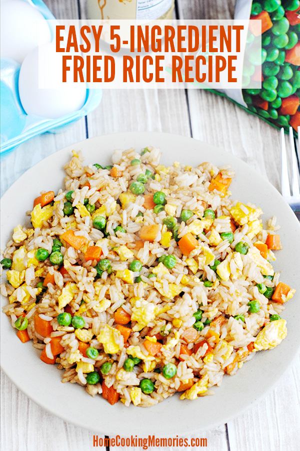 Easy 5-Ingredient Fried Rice with Egg Recipe