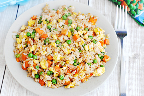 5 ingredient fried rice with egg recipe home cooking memories