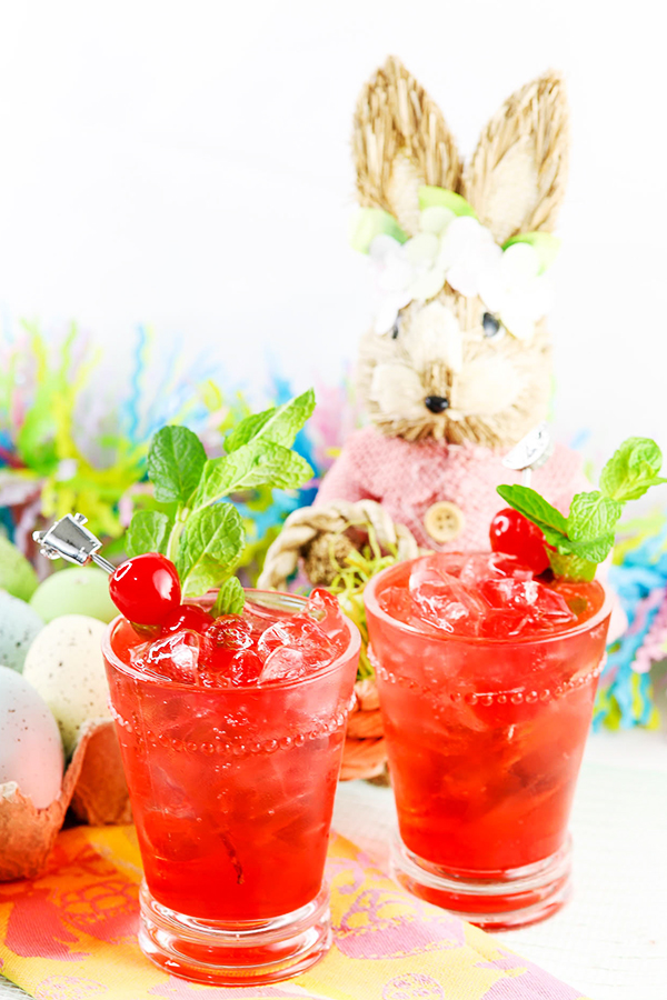 Cherry Shirley Temple Mocktail Recipe