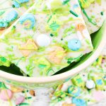 Lucky Charms Marshmallows White Chocolate Bark Recipe