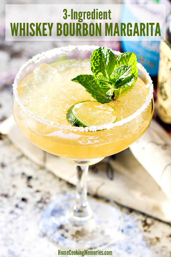 3-Ingredient Whiskey Bourbon Margarita Recipe