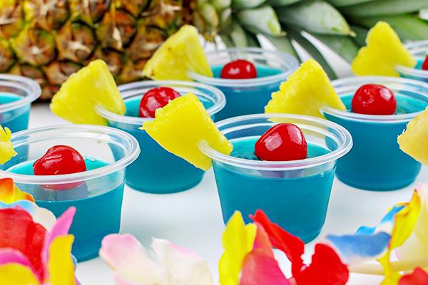 Blue Hawaiian Jello Shots Recipe