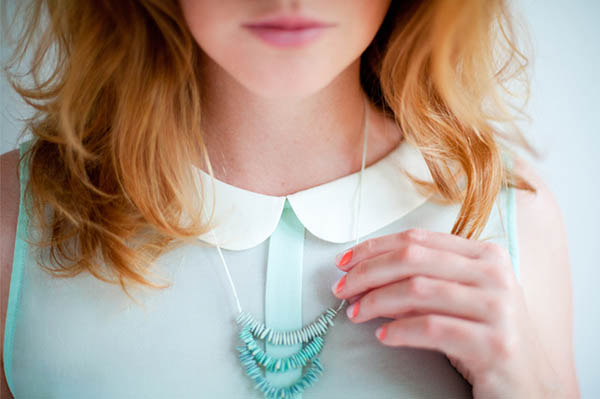 Melon Seed Necklace
