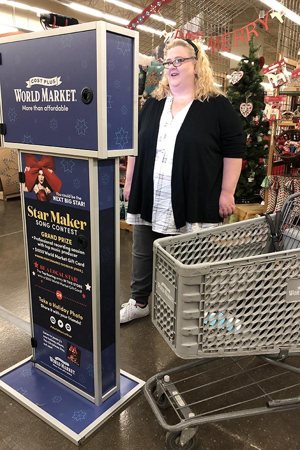 Cost Plus World Market Star Maker Contest Kiosk