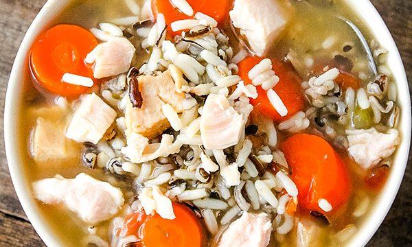 Easy Chicken Rice Soup Recipe