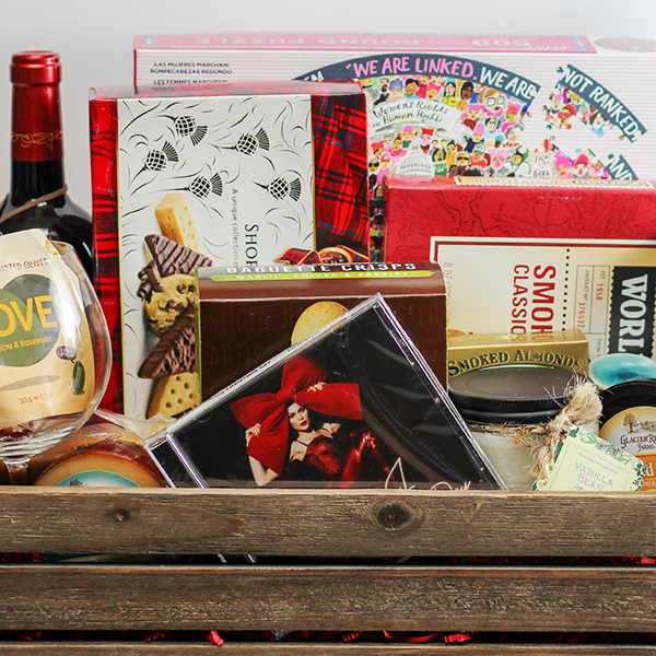 Girls Night Holiday Gift Basket Idea Home Cooking Memories