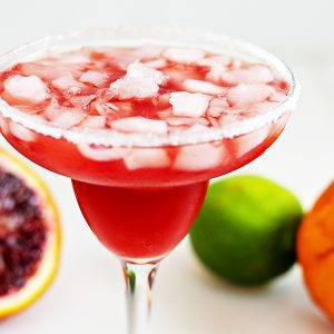 Blood Orange and Ginger-Honey Margarita Recipe