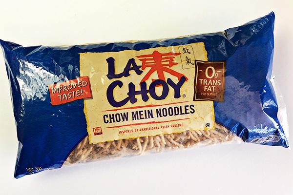 Chow Mein Noodles Bag