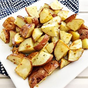 Easy Oven Roasted Red Skin Potatoes Recipe