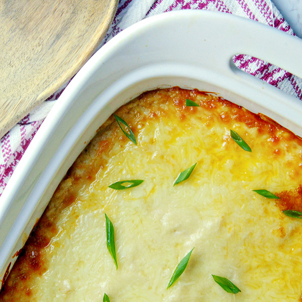 Mashed Cauliflower Shepherds Pie Recipe