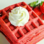 Red Velvet Waffles Recipe
