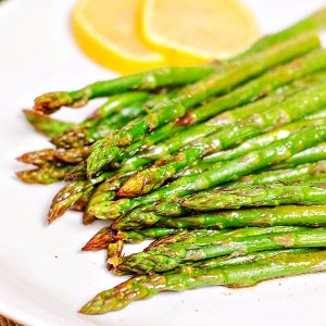 Oven Roasted Lemon Asparagus Recipe