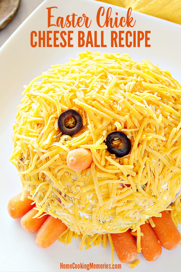 Easter Chick Cheese Ball Recipe
