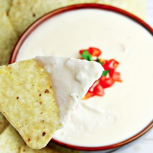 Homemade White Queso Dip Recipe